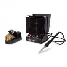 TEMPERATURE CONTROLLED SOLDERING STATION WITH FUME EXTRACTOR