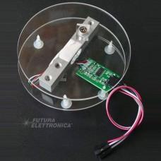 Sensor module for weighing