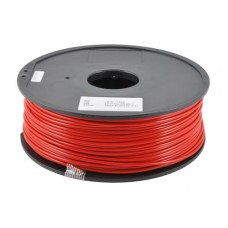 ABS RED FOR 3D PRINTERS - 1 KG - 1,75 MM