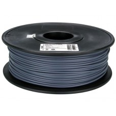 PLA GRAY ON REEL FOR 3D PRINTERS - 1 KG