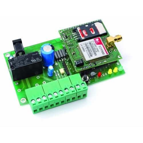 GSM Remote Control – Temperature Control- Allows to remotely manage