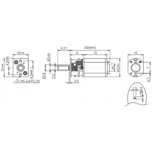 30 1 micro metal gearmotor