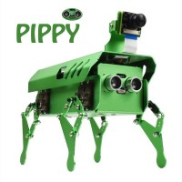 Bionic Robot Dog with Raspberry Pi and SD Card