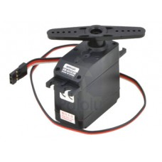 Continuous rotation analog servo 4,8 kg.cm - 0,16 s - 44 g