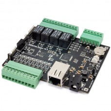 Ethernet card 4 relays, 8 digital I/ Os and 4 analog inputs