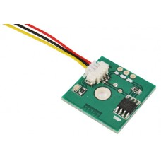 DS18B20 temperature sensor - mounted