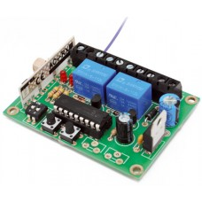 Self-learning 433.92 MHz two-channel receiver - To Be Welded