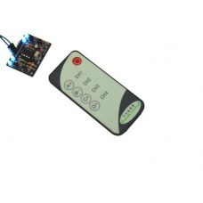 IR receiver with 4 channels with remote control
