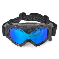 Mask for skiing and snowboarding with Full HD camera and Wi-Fi