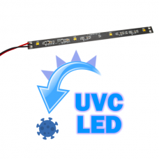 UVC Strip with 4 UVC LED