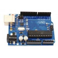 UNO board with ATmega328P and ATmega16U2