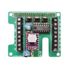 Raspberry Pi shield for 3D Scanner
