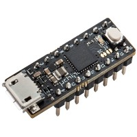 uChip: Arduino Zero compatible in a narrow DIP-16 package (headers already soldered)