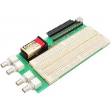 Breadboard for NI myDAQ with 22 educational experiments