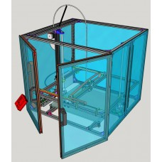 Plexiglass box for 3D4040 printer