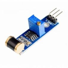 Module with vibration sensor