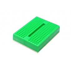 BREADBOARD - 170 CONTACTS (GREEN)