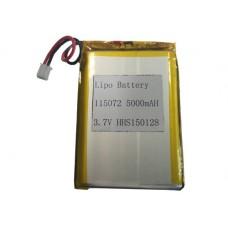 Lithium-polymer battery 3.7V 5000MAH