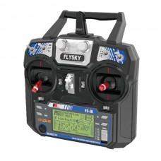 Flysky i6 radio remote control + iA6 - 2.4 GHz receiver